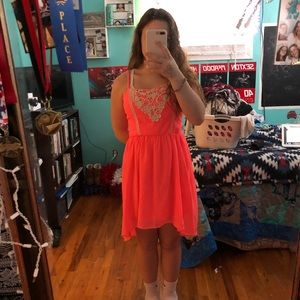 Rue21 pink party dress